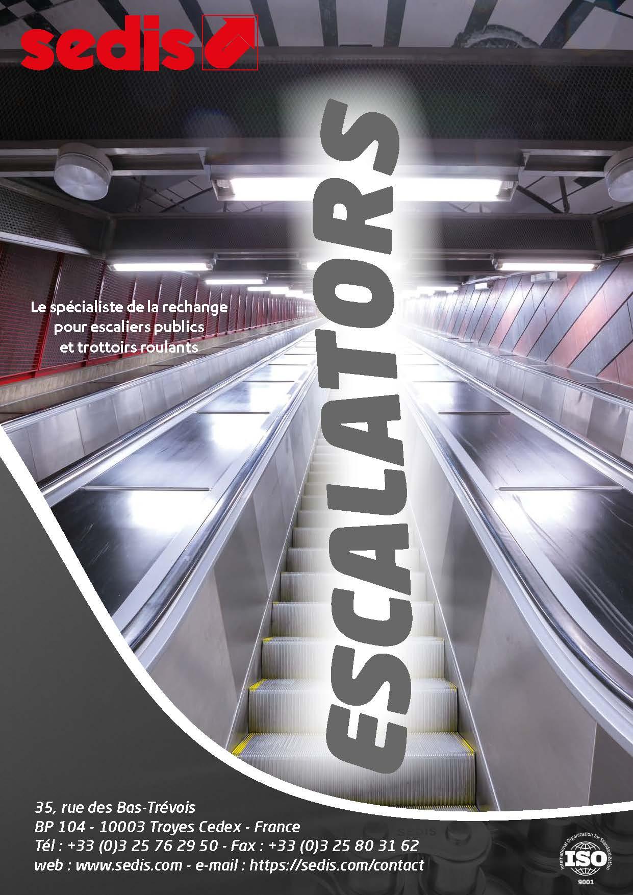 sedis brochure metier escalator