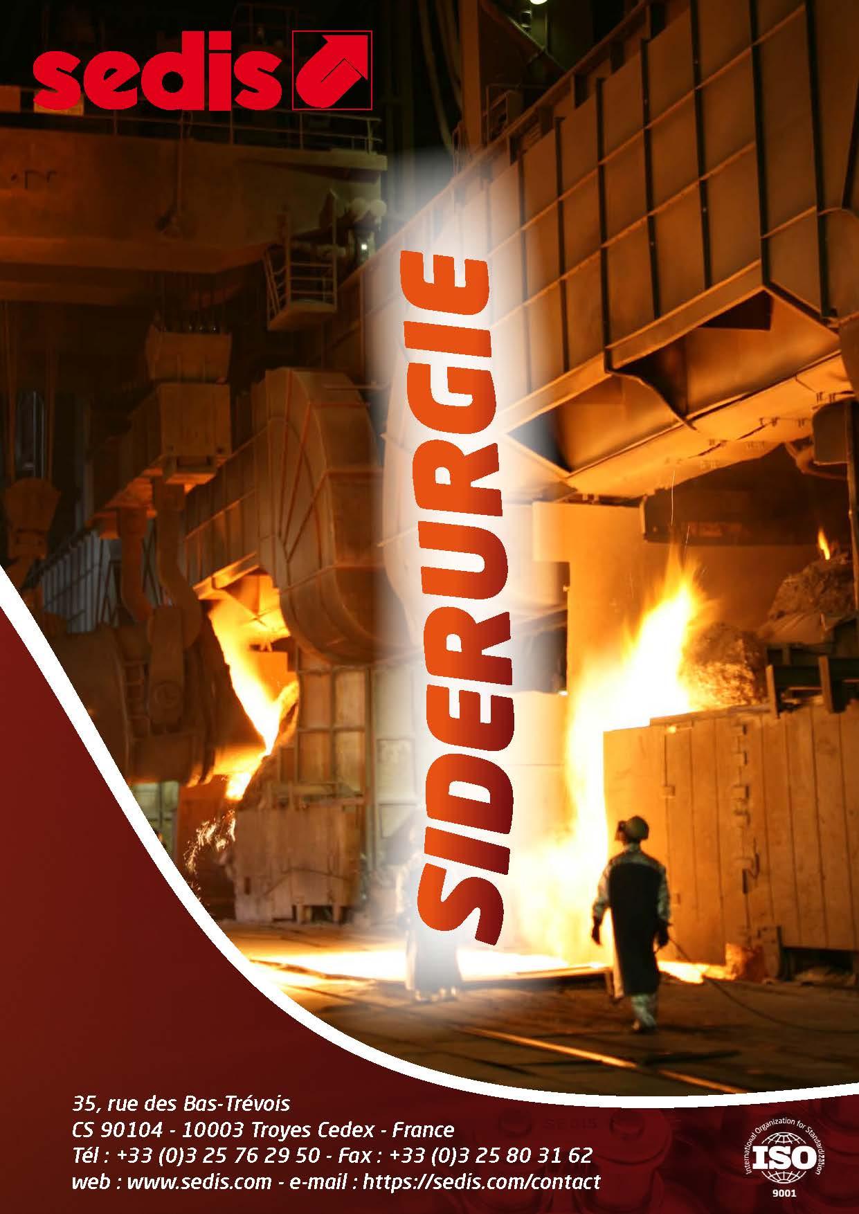 sedis brochure metier siderurgie