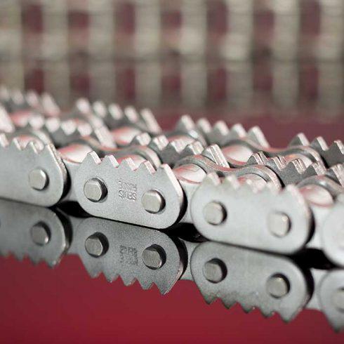 Sedis chaînes adaptées, chaînes à griffes