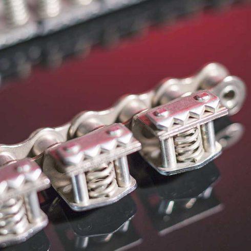Sedis Chaînes adaptées, chaînes à pinces