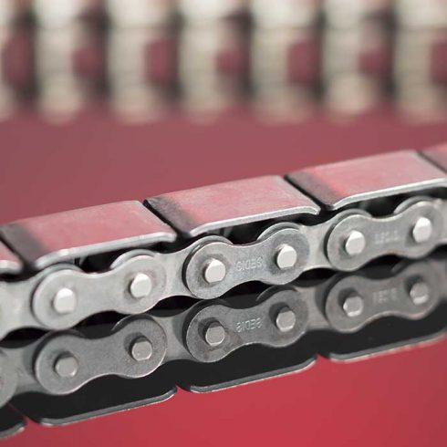 Sedis chaînes adaptées, chaînes d'accumulation à plaques type KC