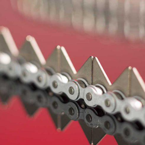 Sedis chaînes adaptées avec plaques en V