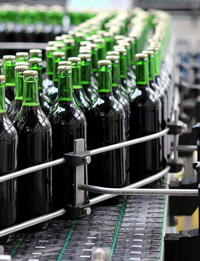 SEDIS fabrications, remplissage de bouteilles, boissons