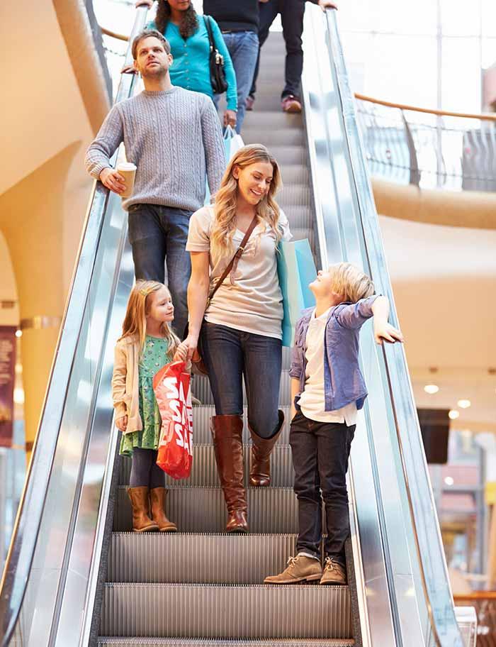 SEDIS escalators