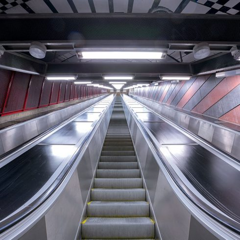 Sedis industrie urbain escalator