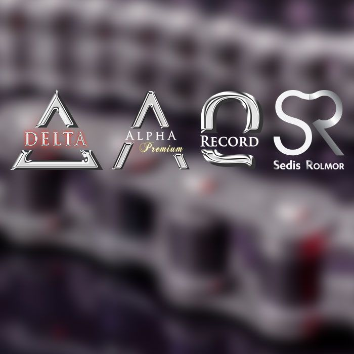 Gammes SEDIS - DELTA, ALPHA PREMIUM, RECORD, ROLMOR